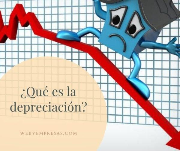 Qué es depreciación