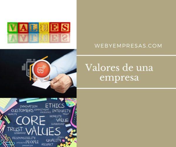 Valores empresariales