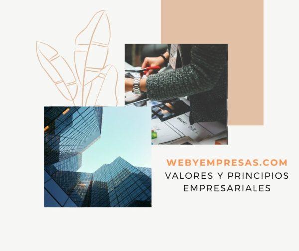 Valores y principios empresariales