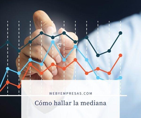 Estadística cómo hallar la mediana
