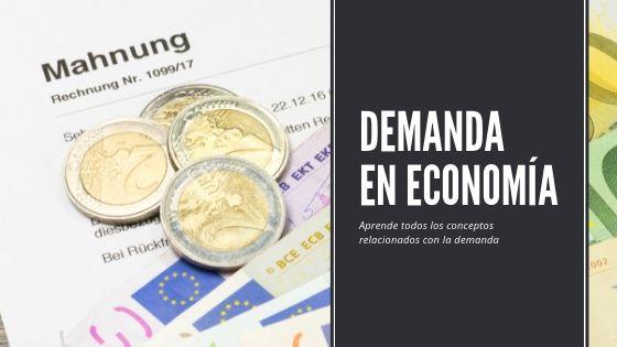 demanda en economía