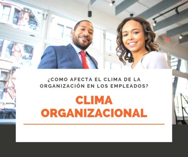 Clima Organizacional (definición, efectos, características)