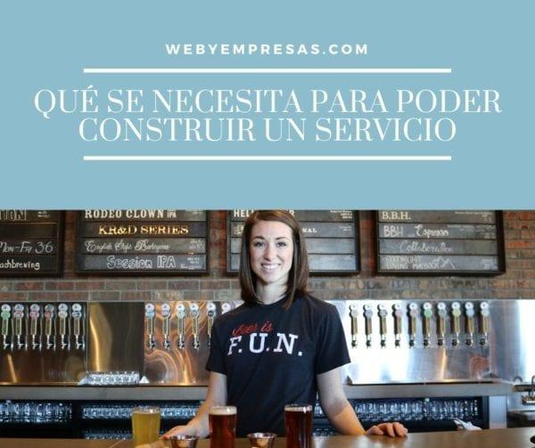 Construir un servicio