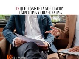 negociación competitiva y colaborativa
