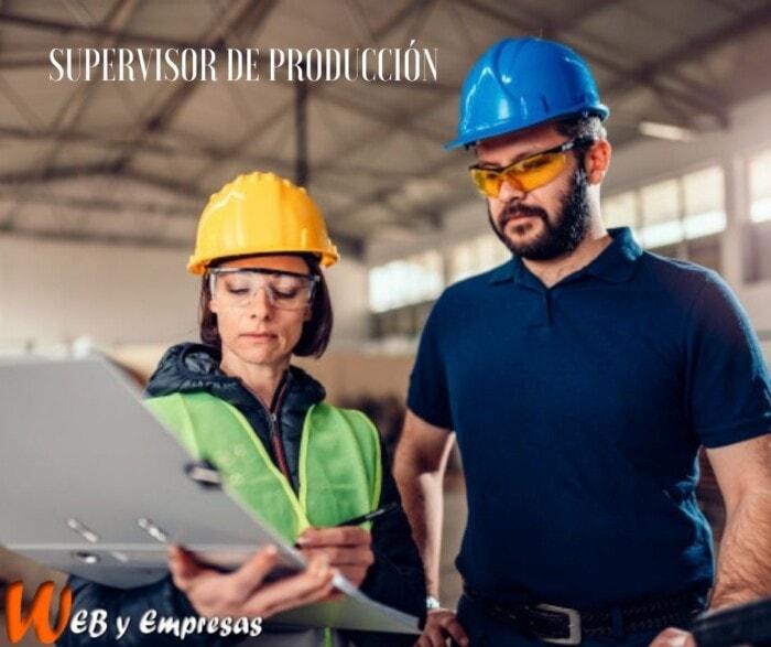 Funciones de un supervisor de producción