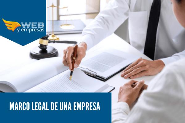 Marco legal de una empresa