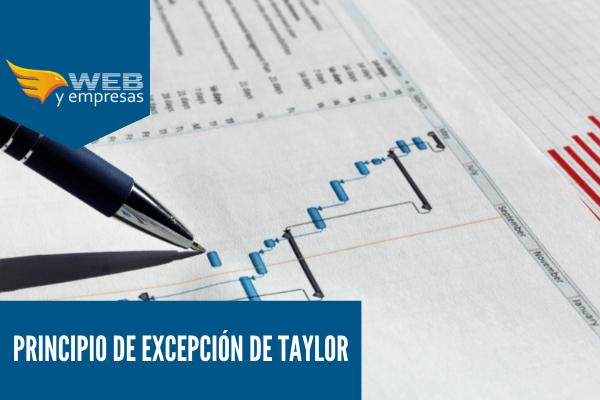 principio de Excepción de Taylor