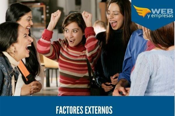 tipo de factores externos