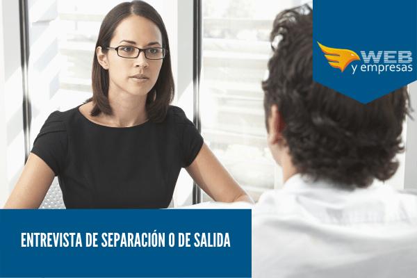 entrevista de separación